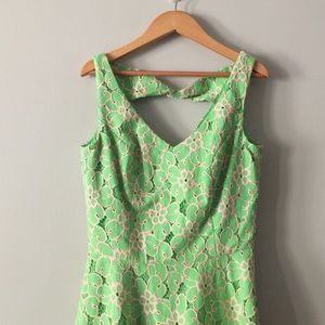 Lilly Pulitzer eyelet green dress size 4